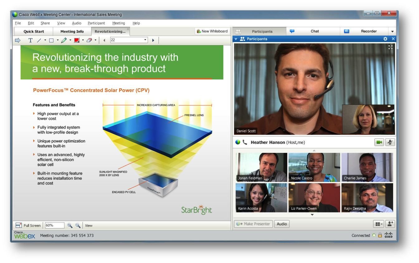 webex graphic with several users on different devices